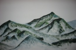 Mountain drawing